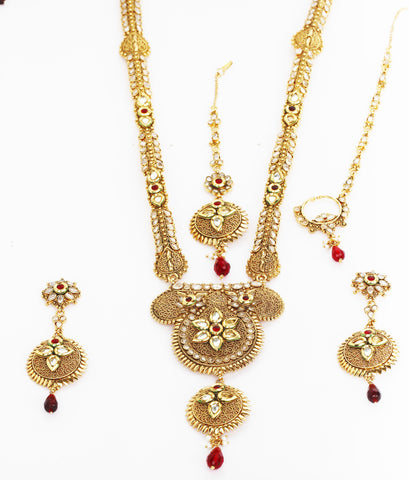 Exclusive ethnic Indian complete bridal set by Touchstone- MESE-044-01X--G