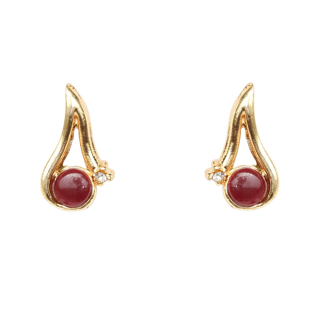 Ruby Earrings By Touchstone- PWETL015-02AR-Y