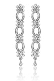 Austrian Diamond Earrings By Touchstone - PWETL030-01A--W