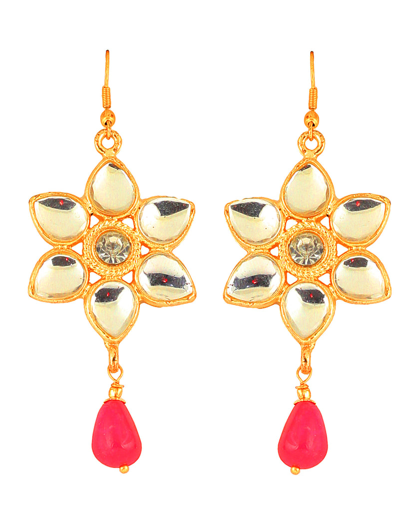 Kundan Earrings By Touchstone- PWETL224-03AK-Y