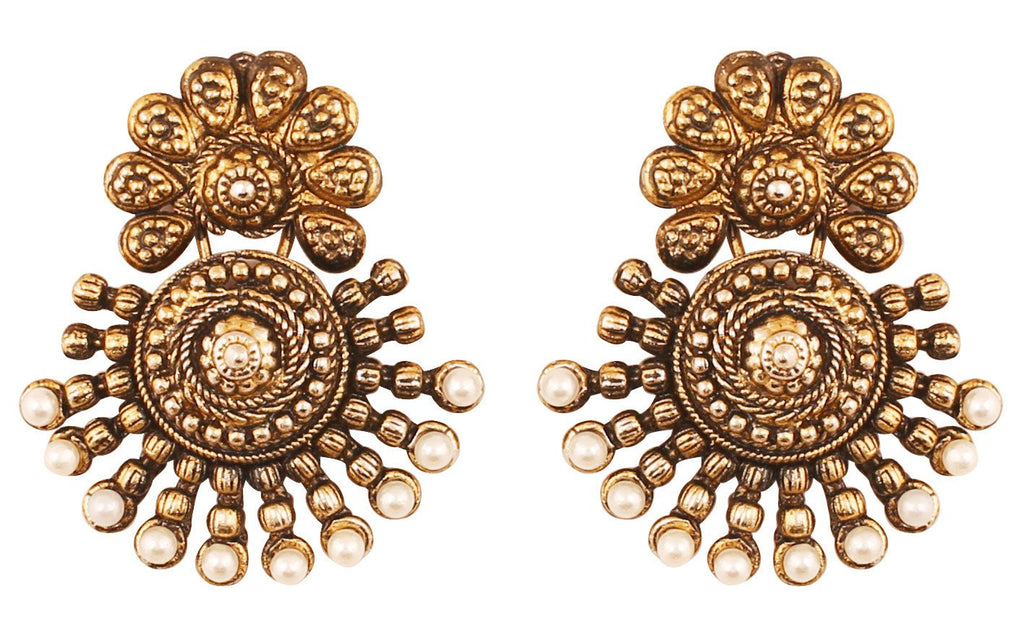 Touchstone Indian bollywood ancient southern gold jewelry inspired ...