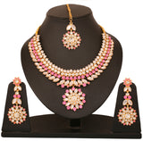 Kundan Necklace Set By Touchstone - PWNSL135-01KZ-Y