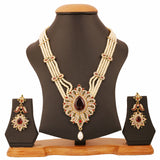 Touchstone Four String Exuberant Necklace Set- PWNSL174-01AREG