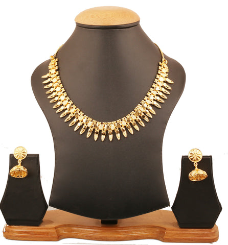 5530d26b6 Touchstone Indian Bollywood ethnic royal look exemplary craftsmanship grand  designer jewelry necklace for women in gold