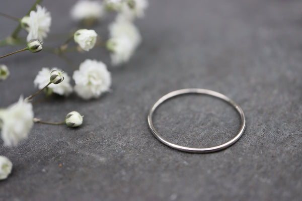Palladium 950 Stacking Ring