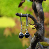 Black Tourmaline Drop Earrings