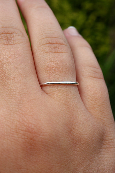 Polished Stacking Ring