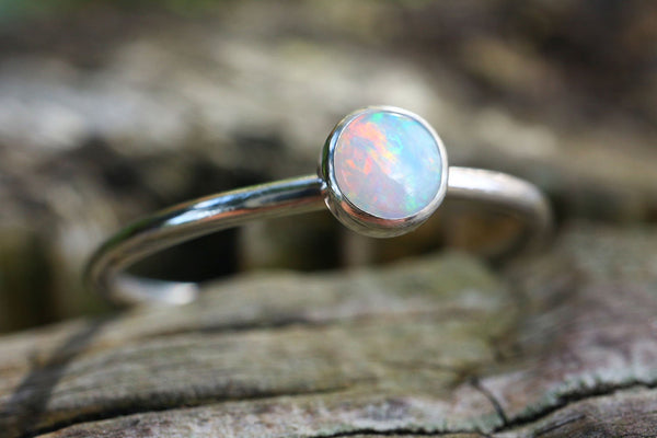 Natural Fine Quality Opal Ring