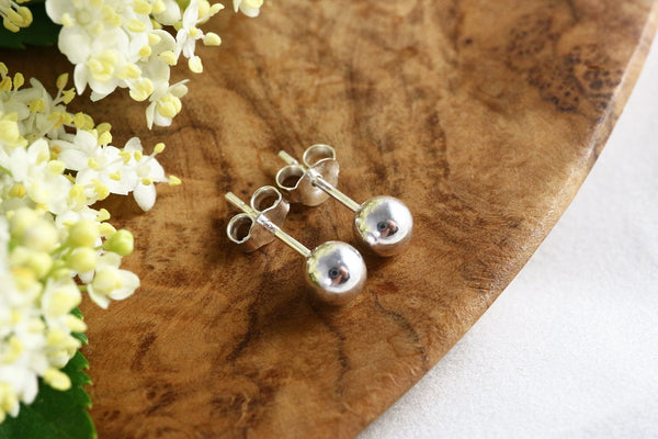 Everyday Large Ball Stud Earrings