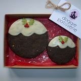 Little and Large Christmas Pudding Gift Box