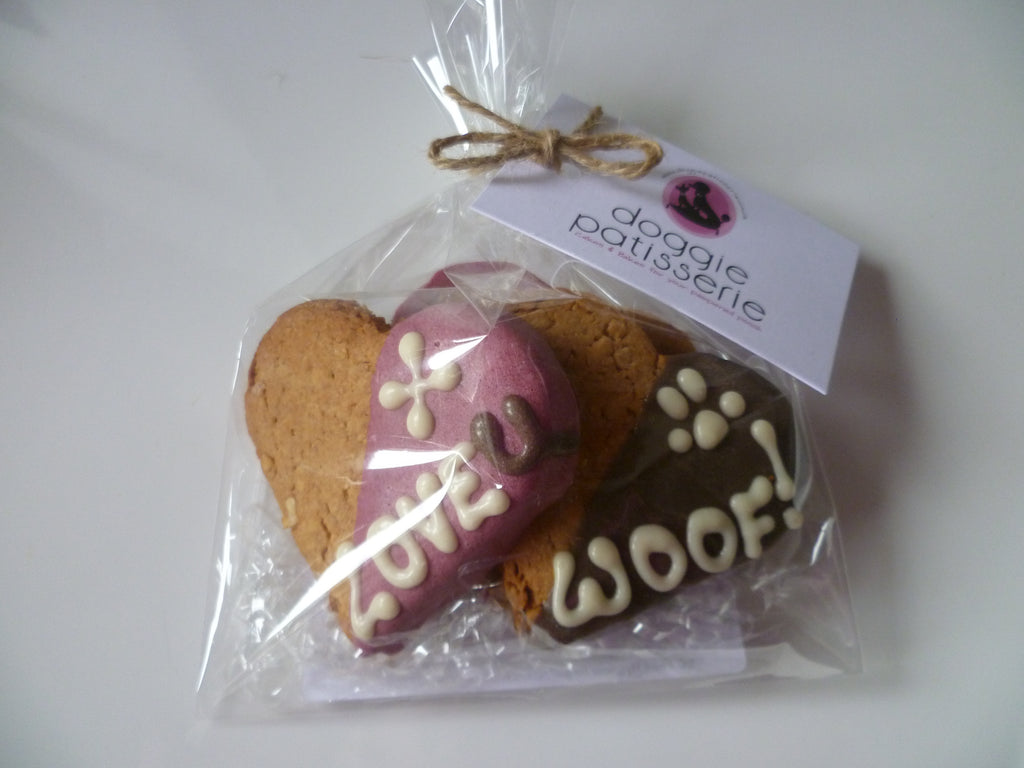 Heart Cookies Gift Bag