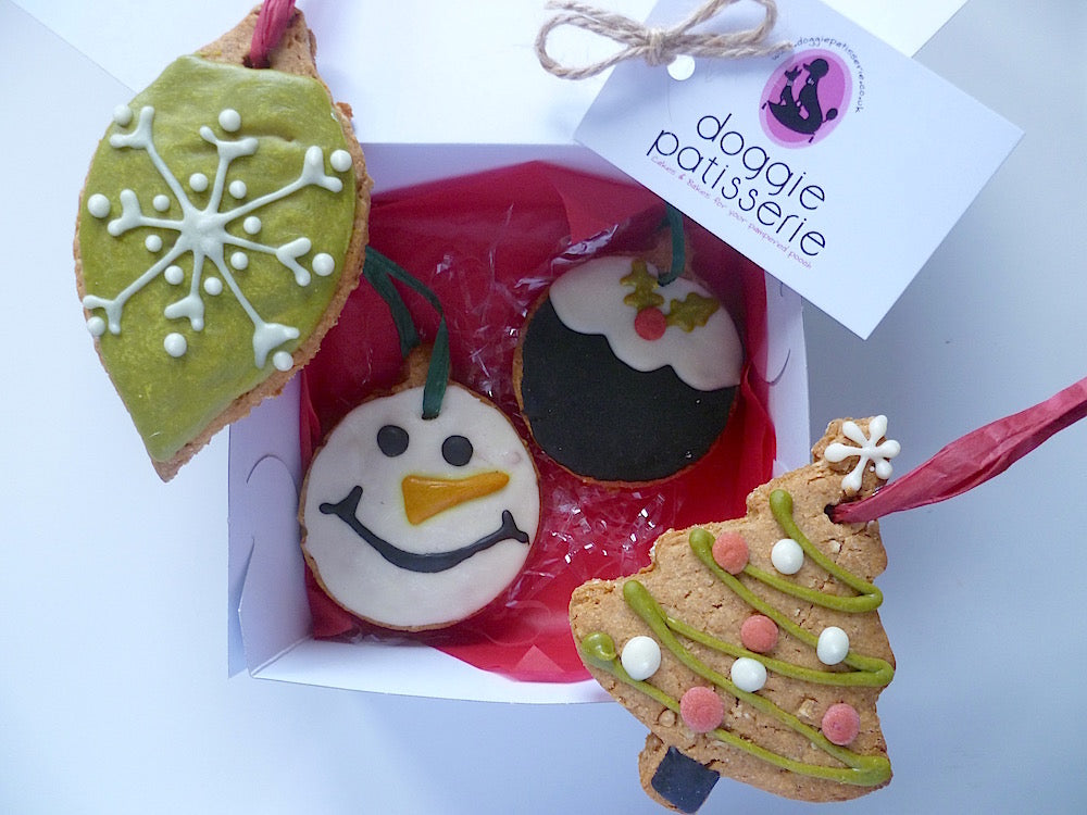 Christmas Cookie Baubles Gift Box