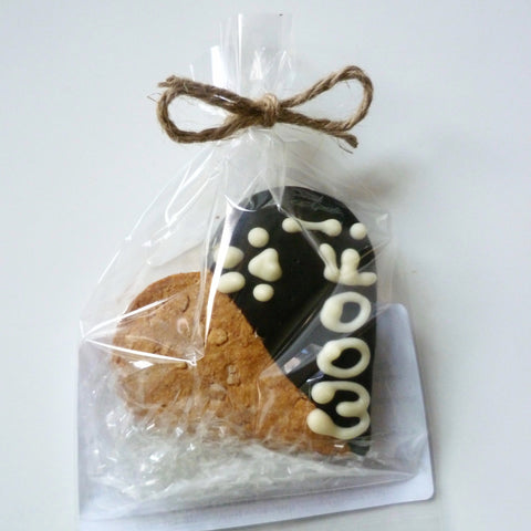 Carob Heart Cookie