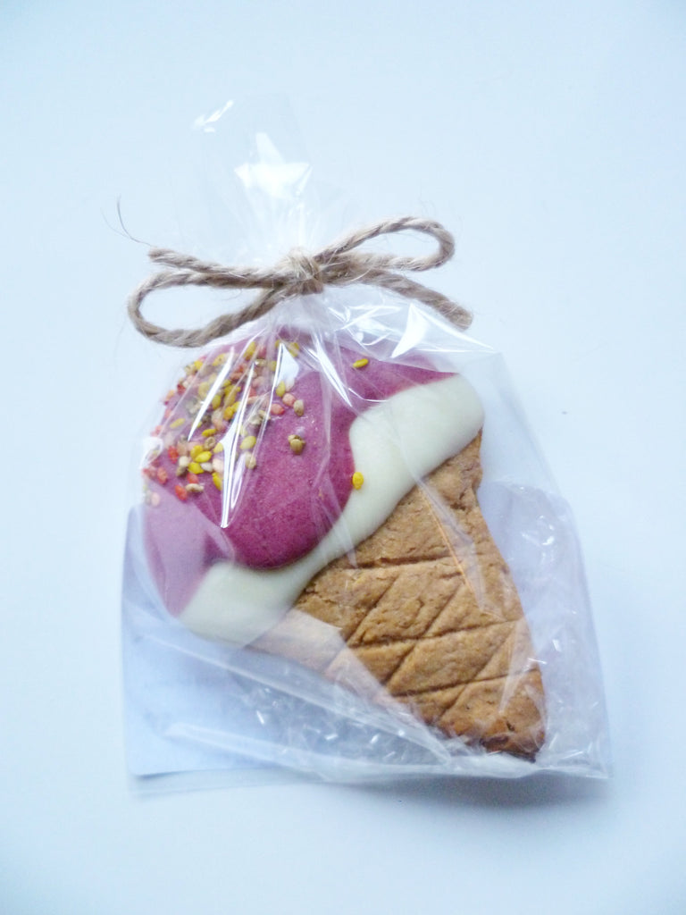 Pink Ice Cream Cookie