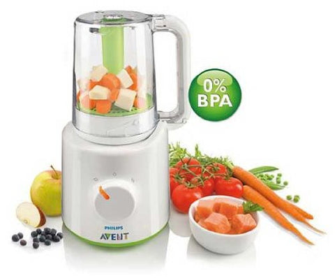 Philips Avent Combined Baby Food Steamer and Blender - Baby Brands 4 U - 1