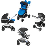 Chicco Urban Travel System Special Edition - Winter Night (Blue) - Baby Brands 4 U - 2