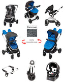 Chicco Urban Travel System Special Edition - Winter Night (Blue) - Baby Brands 4 U - 1