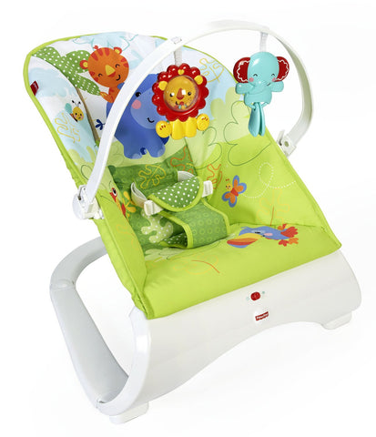 Fisher-Price Rainforest Bouncer - Baby Brands 4 U - 1