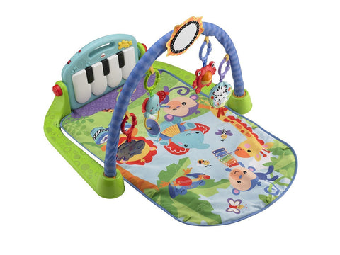 Fisher-Price Kick and Play Piano Gym - Baby Brands 4 U - 1
