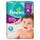 Pampers Active Fit Size 4 (Maxi) Monthly Pack of 168 Nappies - Baby Brands 4 U - 1