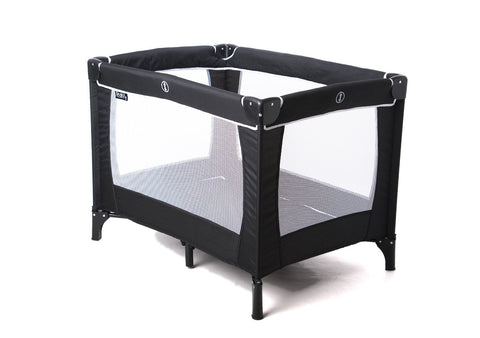 Red Kite Sleeptight Travel Cot (Black) - Baby Brands 4 U - 1