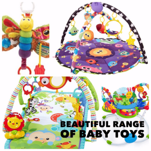 Toys suitable for Newborn's