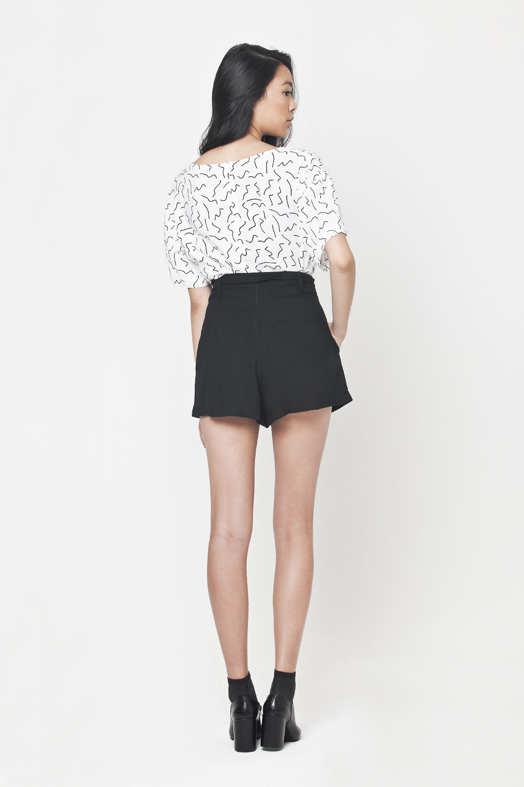 Highwaisted Short