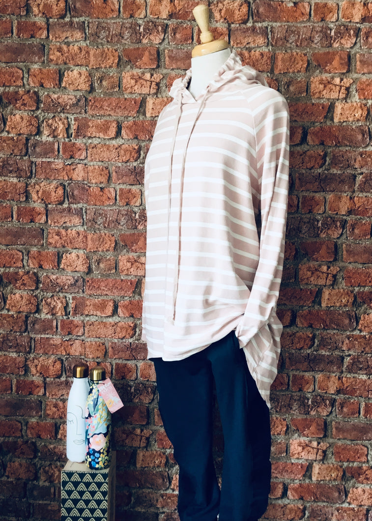 Made In Italy Striped Daisy Hoody - 9 Colours