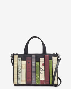 Yoshi Bookworm Black Leather Multiway Grab Bag - Sands Boutique clothing and gifts
