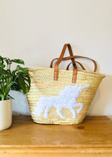 Sands Accessories - Emma Unicorn Basket White