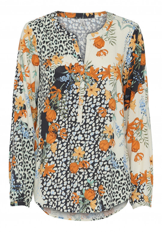 Soyaconcept Gaiga Print top - Sands Boutique clothing and gifts
