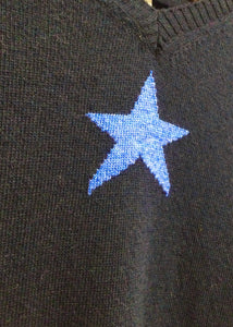 Sands - Holly Cashmere Single Star Jumper - 4 Colours