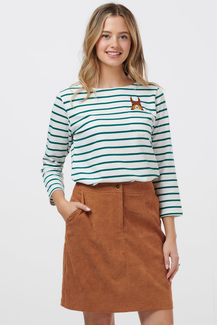 Sugarhill Brighton Tan Maggie Skirt - Sands Boutique clothing and gifts