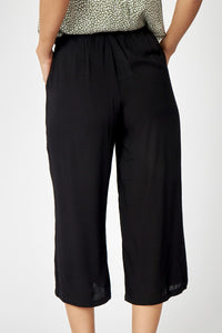 Soyaconcept - Radia Trousers/Culottes Black - Sands Boutique clothing and gifts