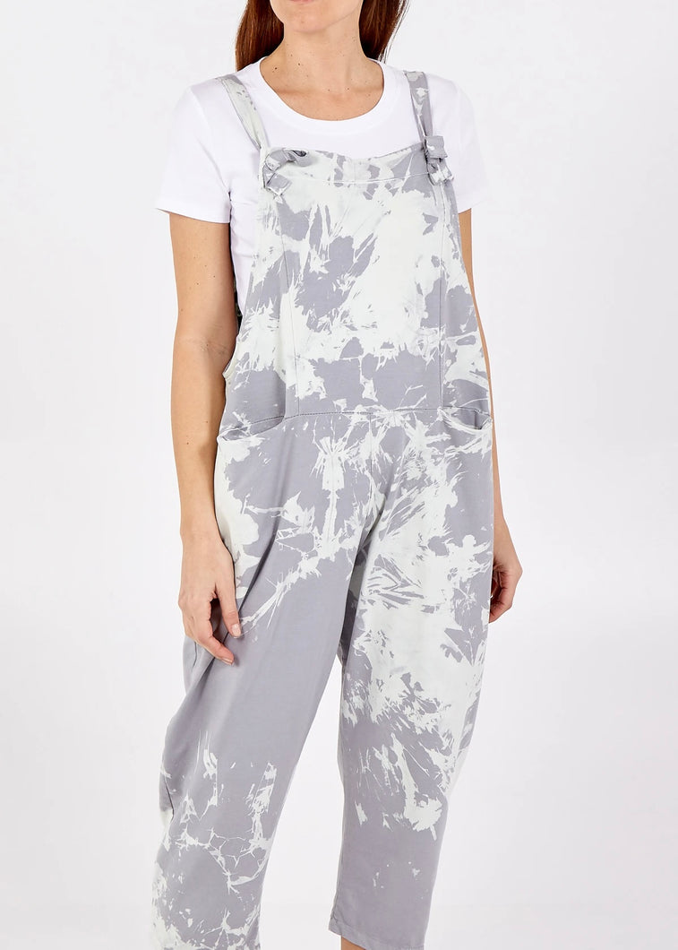 Sands Porthleven Splatter Jersey Dungaree - 14 Colours