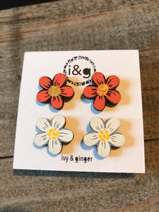 Ivy & Ginger Flower Set