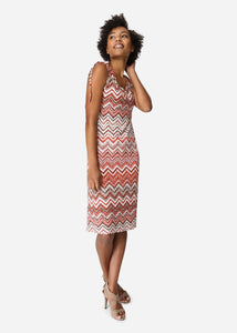 Soya Concept Liba Rust Summer Dress