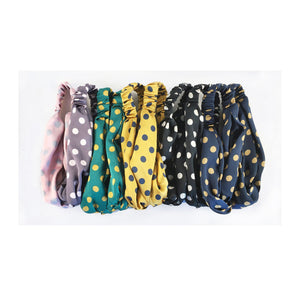 Polka Dot Printed Headscarf - Sands Boutique clothing and gifts