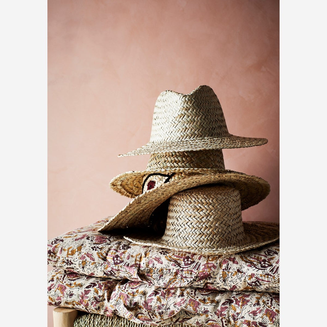 Madam Stoltz Straw Hat