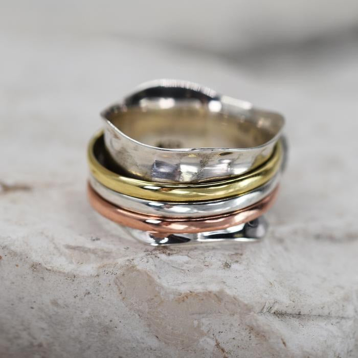 Sands Silver Spinner Ring - Sands Boutique clothing and gifts