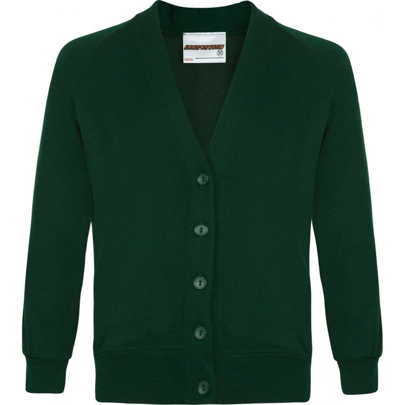 St Meriadoc Junior School Embroidered Sweat Cardigan From £12.99