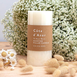 Côte d'Azur Pillar Candle Large - Sands Boutique clothing and gifts
