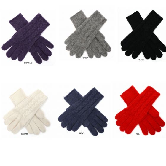 Sands Cable Knitted Gloves