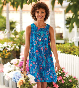 Hatley Meghan Dress - Blue Wild Flowers