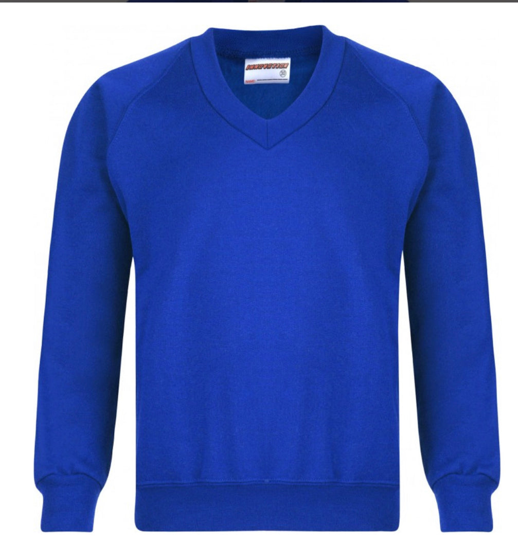 Rosemellin School Embroidered V Neck Sweatshirt From £10.99