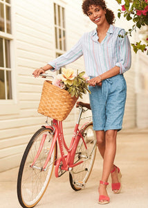 Hatley Jessie Shorts - Chambray