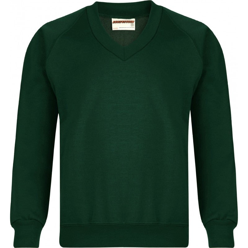 St Meriadoc Junior C Embroidered V Neck Sweatshirt From £10.99