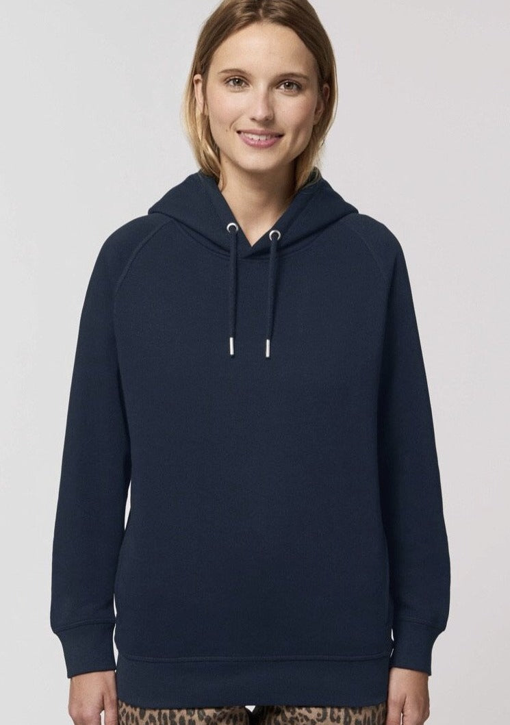 Sands Sustainable French Navy Boyfriend Hoodie