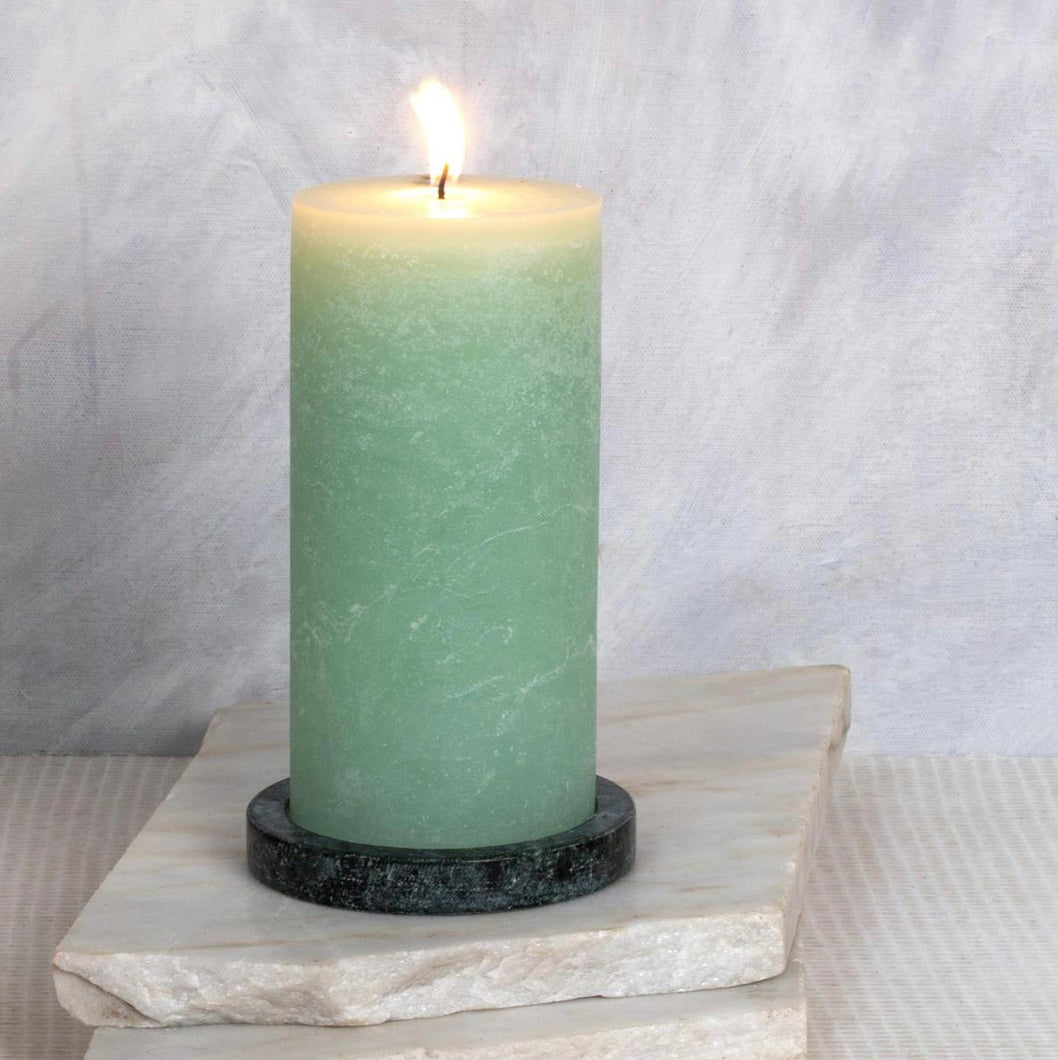 Dassie Artisan Pillar Candle Basil & Cucumber 100mm x 200mm - Sands Boutique clothing and gifts