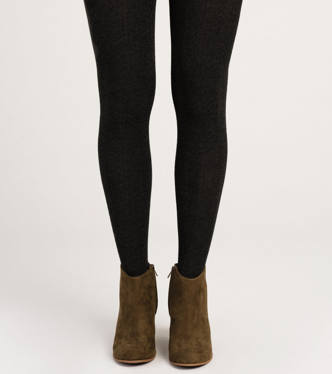Hatley Cable Knit Tights - Black - Sands Boutique clothing and gifts